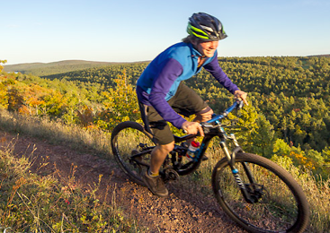 Brockway Mountain: Mountain Biking in Upper Peninsula Michigan
