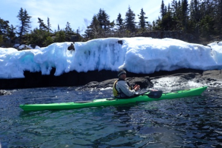 Cold Weather Kayaking Tips from Keweenaw Adventure Company